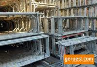 Vertikalrahmen SL B74 _ Plettac SL Gerüst 408 qm mit 2,50 m Holzbelägen