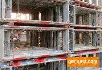 Vertikalrahmen SL B74 _ Plettac SL Gerüst 510 qm mit 2,50 m Holzbelägen