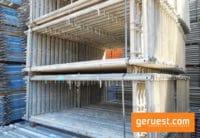 Vertikalrahmen Stahl _ 122 qm Rux Super Gerüst mit 2,00 m Holzbelägen