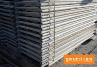 Vertikalrahmen Stahl _ 204 qm Rux Super Gerüst mit 2,50 Holzbohlen
