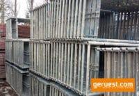 Vertikalrahmen Stahl _ Plettac SL Gerüst 459 qm mit 3,00 m Alurahmentafeln
