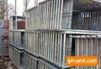 Vertikalrahmen Stahl _ Plettac SL Gerüst 856,8 qm mit 3,00 m Alurahmentafeln