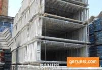 Vertikalrahmen Stahl _183 qm Rux Super Gerüst mit 3,00 m Holzbelägen