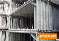 Vertikalrahmen _ Hünnnebeck Bosta Gerüst 1020 qm mit 2,50 m Vollholzbohlen