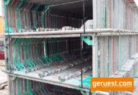 Vertikalrahmen _ Layher Blitz Gerüst 376 qm mit 3,07 m Stahlbelägen