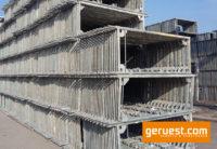 Vertikalrahmen _ Layher Blitz Gerüst 752 qm mit 3,07 m Stahlbelägen