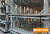 Vertikalrahmen _ Plettac SL Alu Gerüst 183,6 qm mit 3,00 m Robustböden