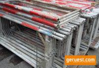 Vertikalrahmen _ Plettac SL Alu Gerüst 55,8 qm mit 3,00 m Robustbelägen