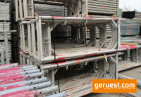 Vertikalrahmen _ Plettac SL Alu Gerüst 98,4 qm mit 3,00 m Robustböden