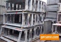 Vertikalrahmen _ Plettac Sl Gerüst 1224 qm mit 3,00 m Alurahmentafeln