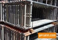 Vertikalrahmen _ Rux Super 65 Gerüst 3,06 qm mit 2,50 m Holz Belagbohlen