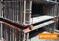 Vertikalrahmen _ Rux Super Gerüst 102,5 qm mit 2,50 m Holz Belagbohlen