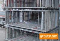 Vertikalrahmen _ Rux Super Gerüst 15 qm mit 2,50 Holz Belagbohlen