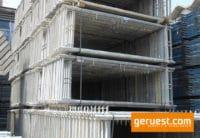 Vertikalrahmen _ Rux Super Gerüst 153 qm mit 3,00 m Holz Belagbohlen