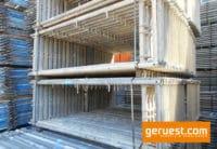Vertikalrahmen _ Rux Super Gerüst 55,8 qm mit 3,00 m Holz Belagbohlen