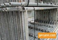 Vertikalrahmen gebraucht Stellrahmen für 488 qm Layher Blitz 73 Gerüst