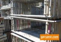 Vertikalrahmen_ Rux Super Gerüst 612 qm mit 3,00 m Belagbohlen