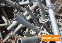 Vertikalstiel 0,50 m gebraucht mit Rohrverbinder - Layher Gerüstteile
