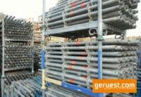 Vertikalstiel 1,50 m gebraucht mit Rohrverbinder - Layher Gerüstteile