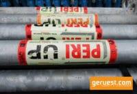 Vertikalstiel UVR 2,00 m gebraucht - Peri Up Easy 500 qm mit 2,50 m Stahlbelägen