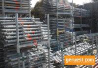 Vertikalstiele 1,00 m 2,00 m _ Layher Allround Gerüst 1315 qm mit 3,07 m Stahlböden