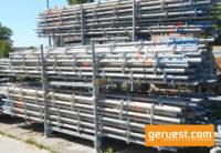 Vertikalstiele 2,00 m _ Layher Allround Gerüst 3,93 qm mit 2,57 m Stahlbelägen