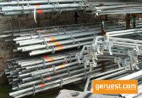 Vertikalstiele 2,00 m _ Layher Allround Gerüst 532 qm mit 3,07 m Stahlbelägen