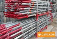 Vertikalstiele _ Layher Allround Gerüst 1096 qm mit 3,07 m Stahlböden