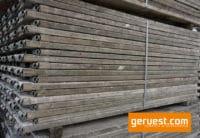 Vollholzbohle 2,00 m _ 102 m² Hünnebeck Bosta 70 Gerüst