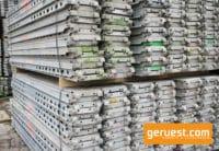 Layher Stahlböden 3,07 m gebraucht kaufen