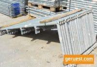 Layher Blitz Schutzgitterstütze gebraucht für 501 m² Dachfanggerüst
