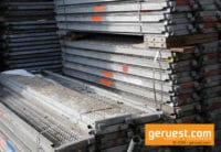gebrauchte Stahlbeläge für 34 qm Layher Blitz Gerüst kaufen